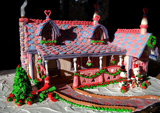 What the world needs now.... Is LOVE! Gingerbread house 2007 | by ineedathis, Everyday I get up, it's a great day!
