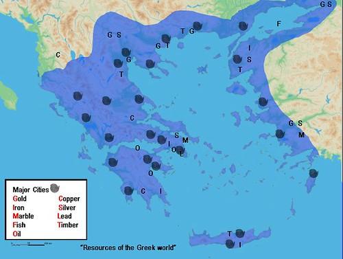 Resources Of The Ancient Greek World Olvios Lakon Flickr