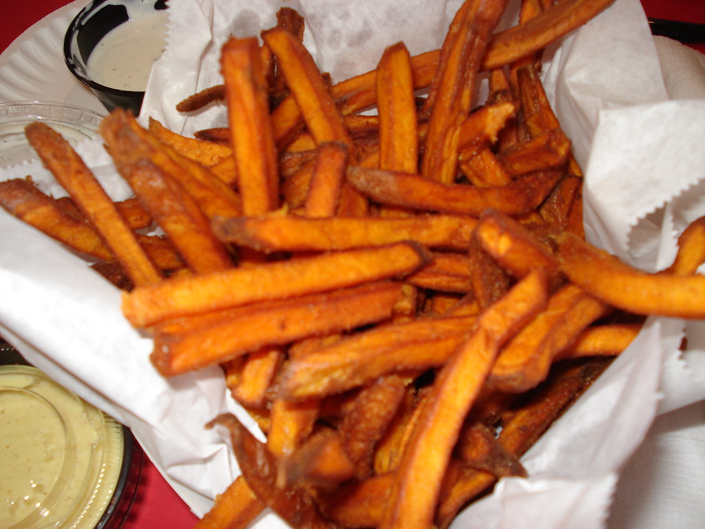 Sweet Potato Fries Peanut Oil Corn Starch Test Kitchen