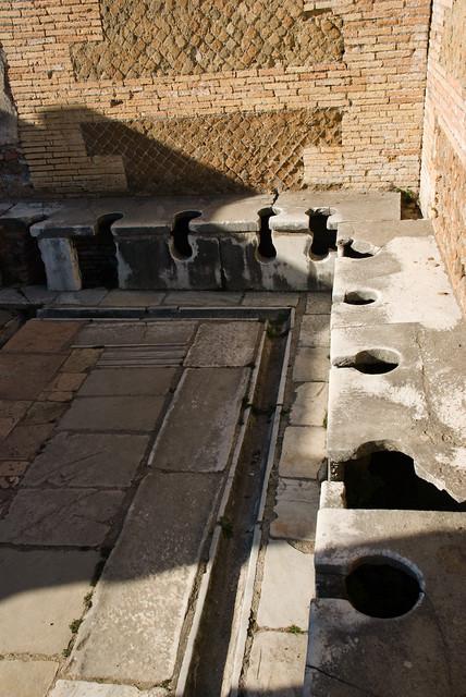 Ostia antica forica anche se all 39 interno del caseggiato for Interno 1 ostia