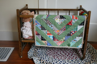 doll quilt and crib. | by all buttoned up