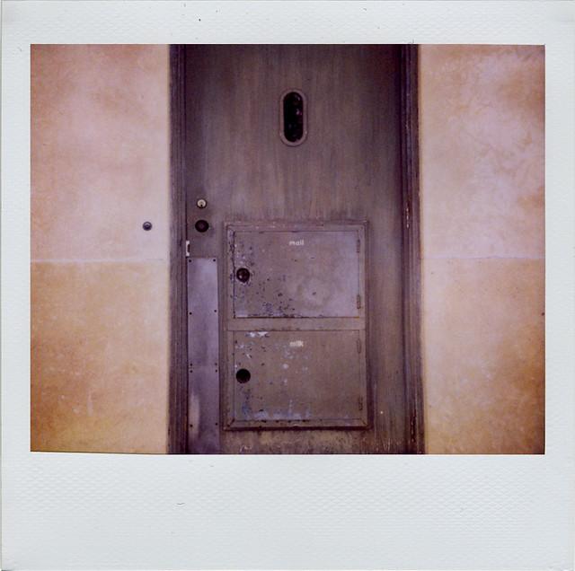 Mail Milk Back Door Of The Frank House Matthew J Ross