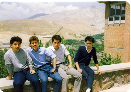 Students in National University of Iran (Shahid Beheshti University), Tehran, Iran (Persia) , May 1985 | by eshare