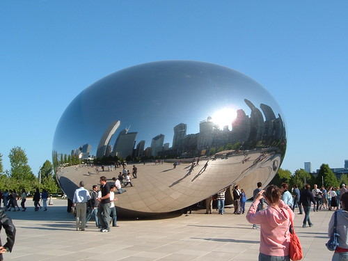 Cloud Gateway Magic Bean Millennium Park Chicago | by mrkathika