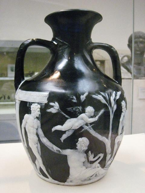 The Portland Vase Roman Cameo Glass Saraleebranch Flickr