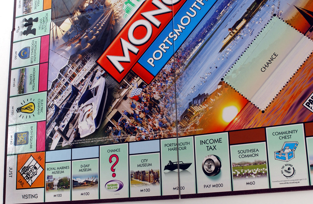 portsmouth edition of monopoly r