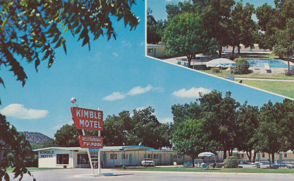 Kimble Motel - Junction, Texas