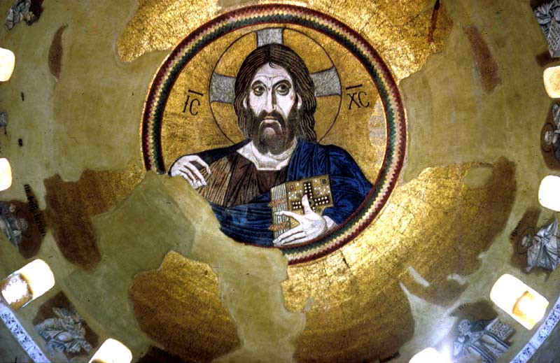 Daphni Church; Daphni Katholikon/ Daphne Monastery | Flickr Christ As Pantokrator
