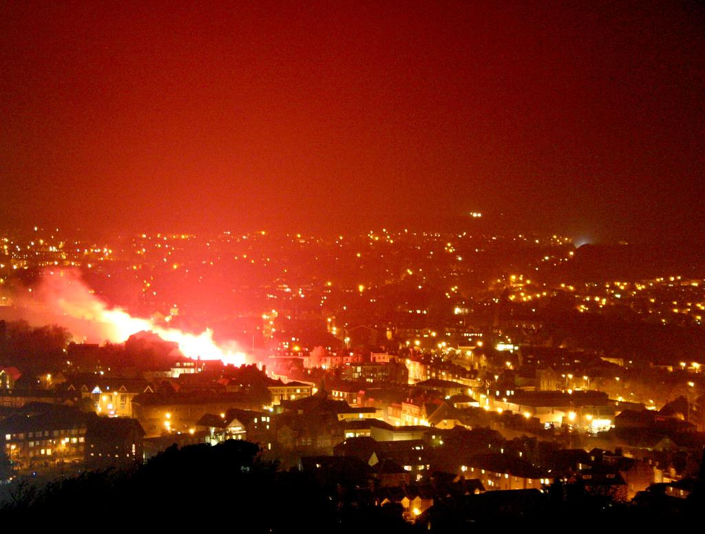 lewes bonfire night 2007