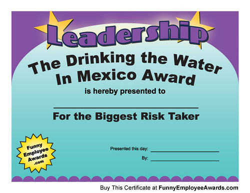 Funny Awards - Leadership Award Certificate | Within every w… | Flickr