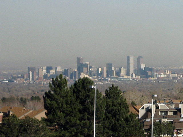 Denver Skyline | As seen from the Green Mountain area. It