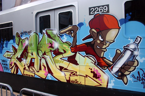 graffiti on train | by ~R!$E~