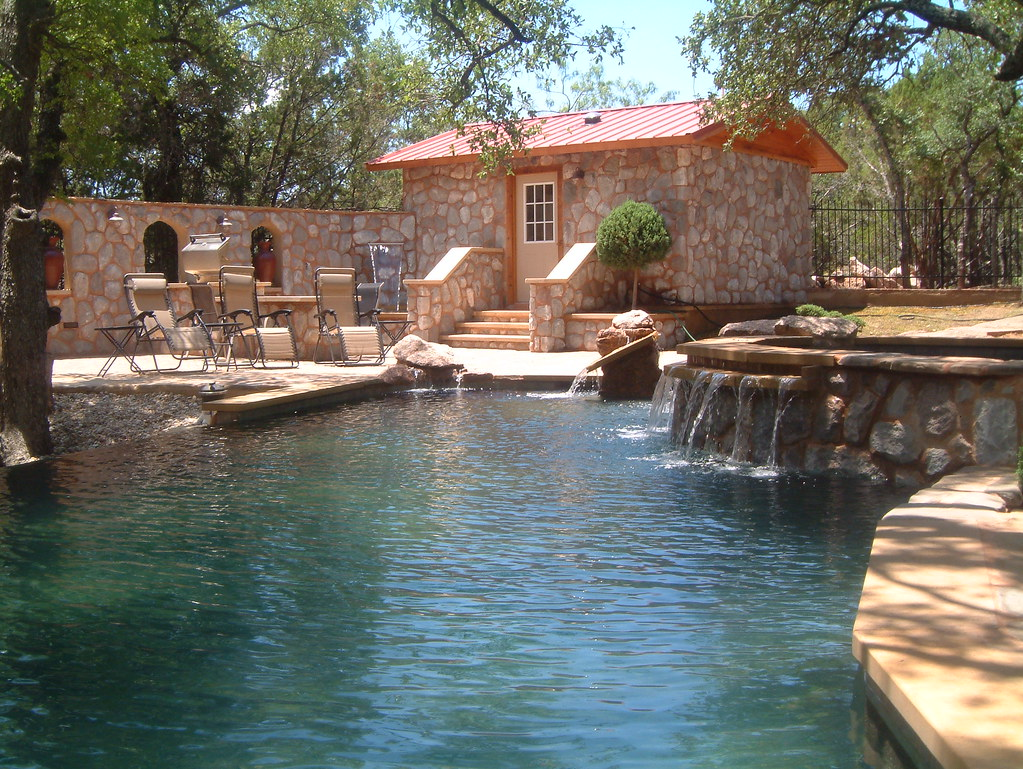 The Avonne Log Cabin Www Theavonne Com Poolscape With