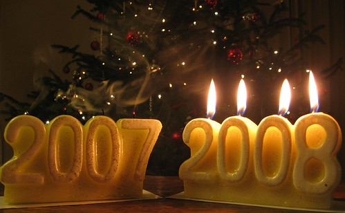 2007 becomes 2008: Happy new year! | by Optical illusion