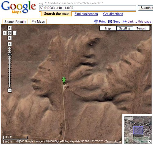 Terrain Face in Google Maps | by Si1very