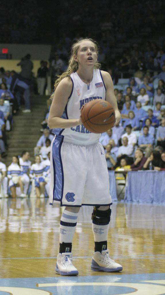 UNC Women's Basketball Team   UNC vs. Duke - Meghan Austin   Flickr