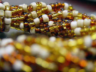 beads of amber and white (3/17) | by fondofsnape