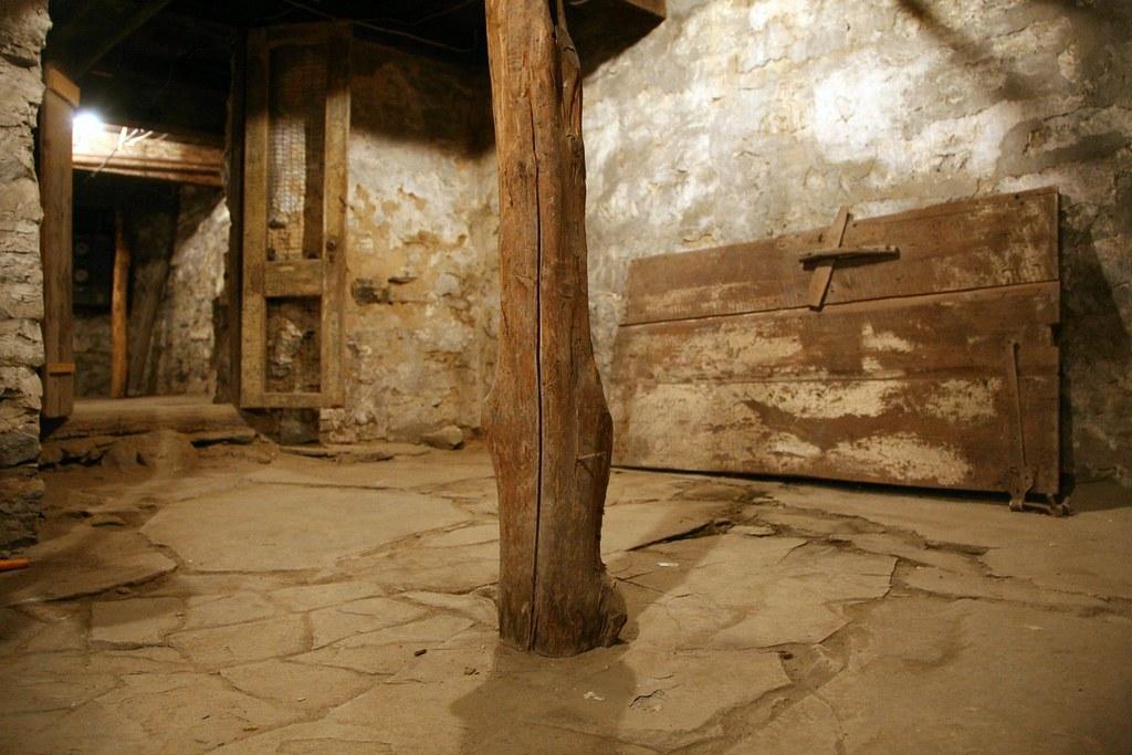 dutch stone house basement hurley ny part of the basement