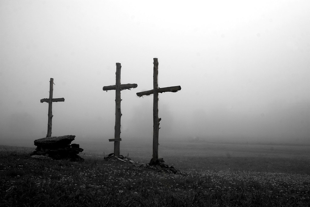 The Crosses on Good Friday | Over Easter Weekend we were