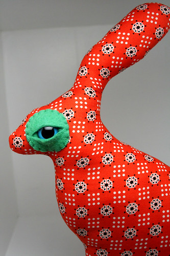 Sam Sam the Jack Rabbit Love=Creature for shoporangebutton | by Look What I Can Do