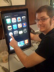 Eric's huge iphone | by mwilkie