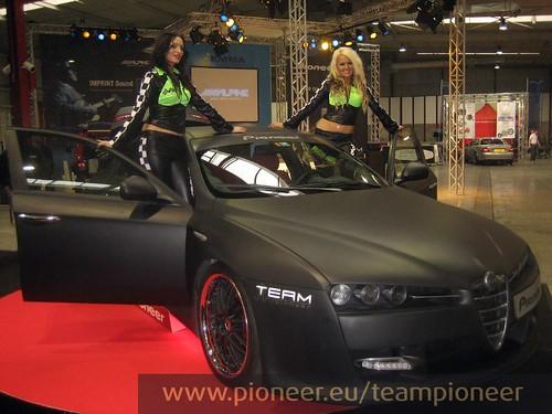 Team Pioneer Alfa 159 And Girls Team Pioneer Flickr