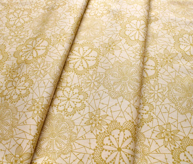 Art Gallery Fabrics Boho Fusion Lace in Bloom Boho
