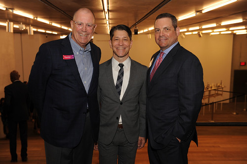 Chris Armstrong, Mitch Bierman, & Greg Ferrero at Fourth Annual Reception for the PAMM Fund for African American Art