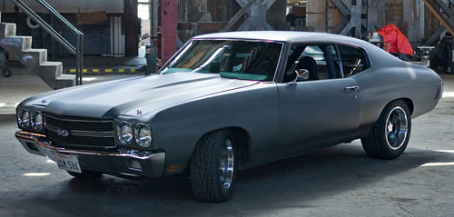 Fast And Furious Chevelle Muscle Car Raced By Vin Di Flickr