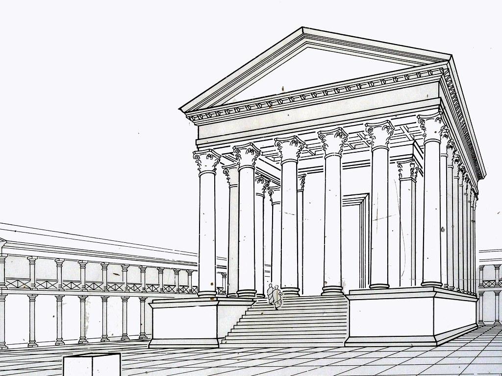 Pantheon Floor Plan Old Roman Temple Of Xanten Germany Marco Braun Flickr