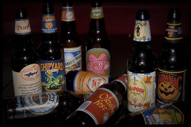 cervejas do outono nos EUA
