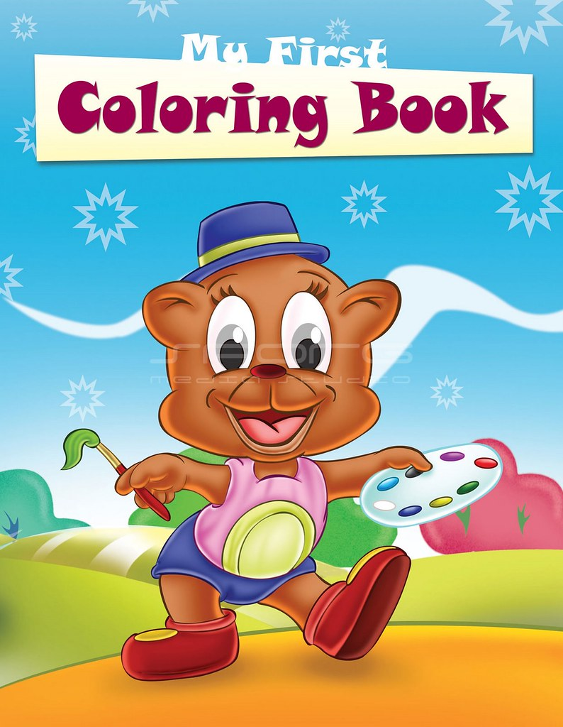 Children Book Cover Page : Coloring book cover page sporg flickr