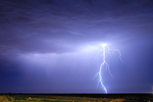 Lightning in the Western Sahara | by Hugo!