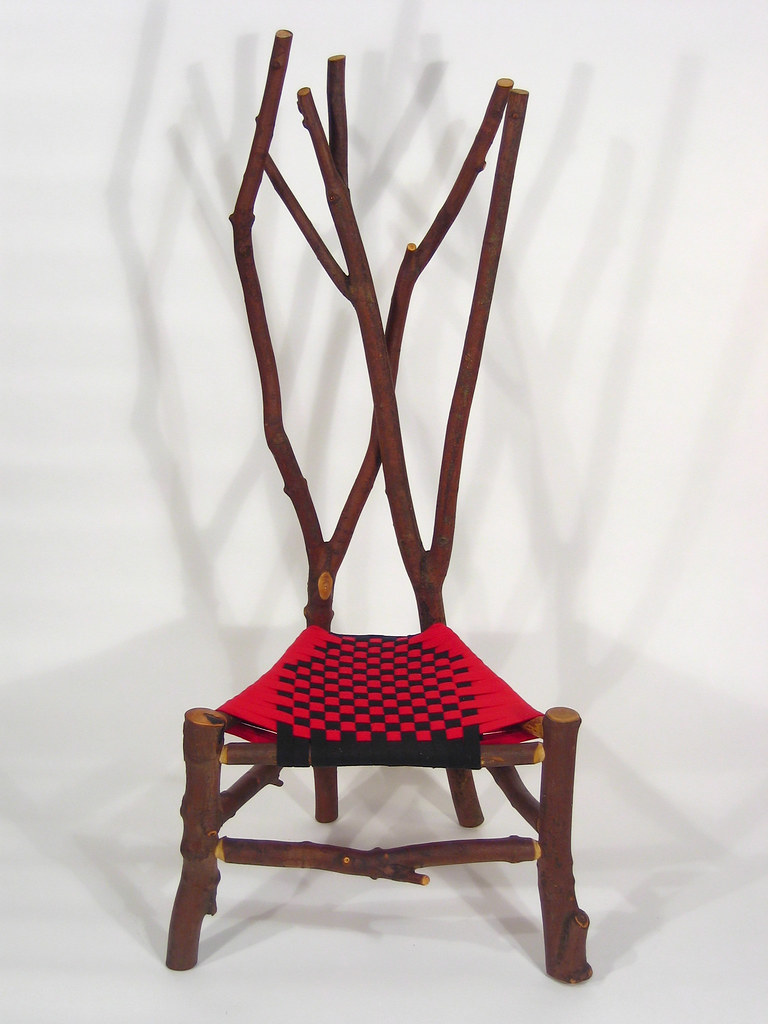 ... Maple, Branch Chair, B | By Sheridan Rustic Arts