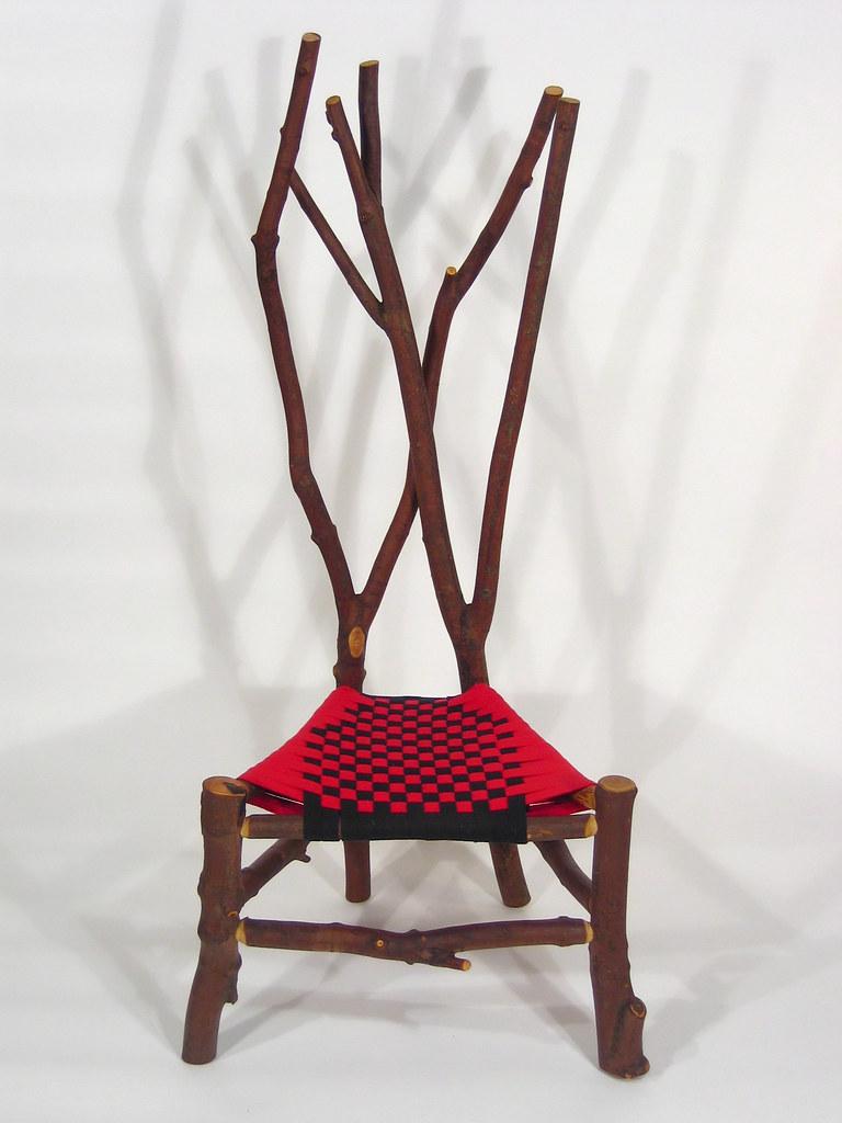 ... Maple, Branch Chair, B | By Sheridan Rustic Arts