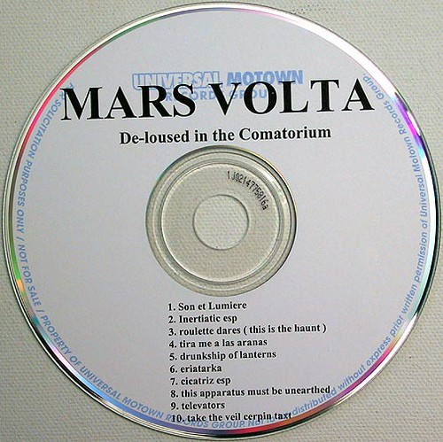 Mars Volta-De-loused In The Comatorium-cd1 | Dave Smith ...