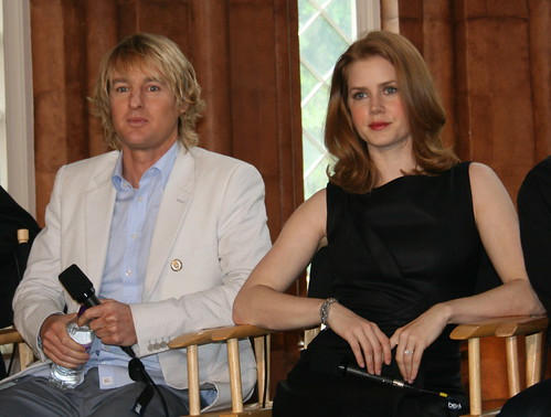 Owen Wilson and Amy Adams | by cranberries