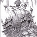 The  Stone Ship - An ancient flying ship has crash landed in the heart of the jungle and turned to stone.