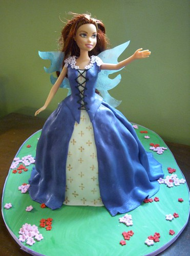 Fairy Princess Doll Cake | My first one, just for practice ...