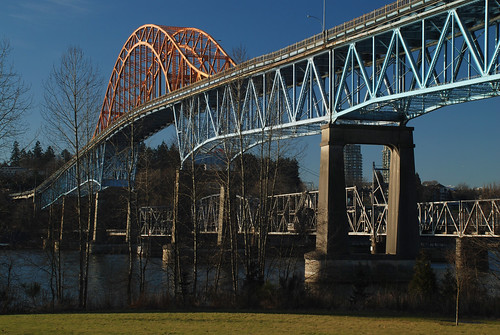 Pattullo Bridge, New Westminster, BC 2008 | by Gord McKenna