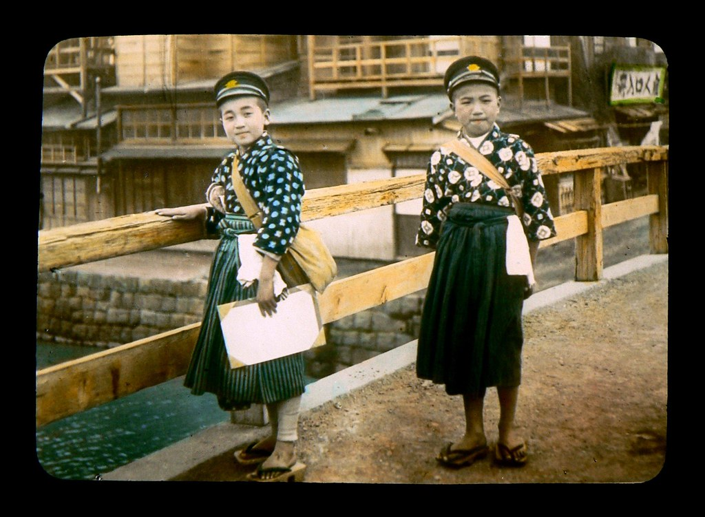 BOYS IN SKIRTS -- Going to School in Old Japan | Men and ...