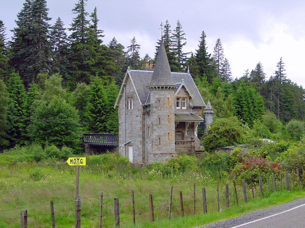 Ardverikie House Gate Building