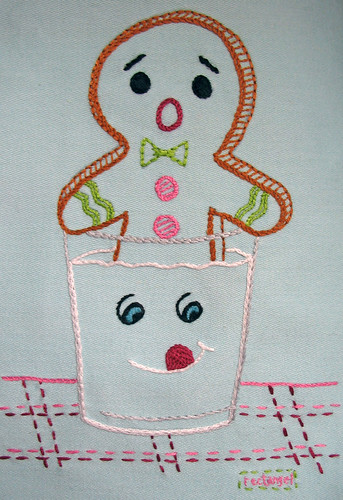 Gingy and the Evil Milk | by rectangel