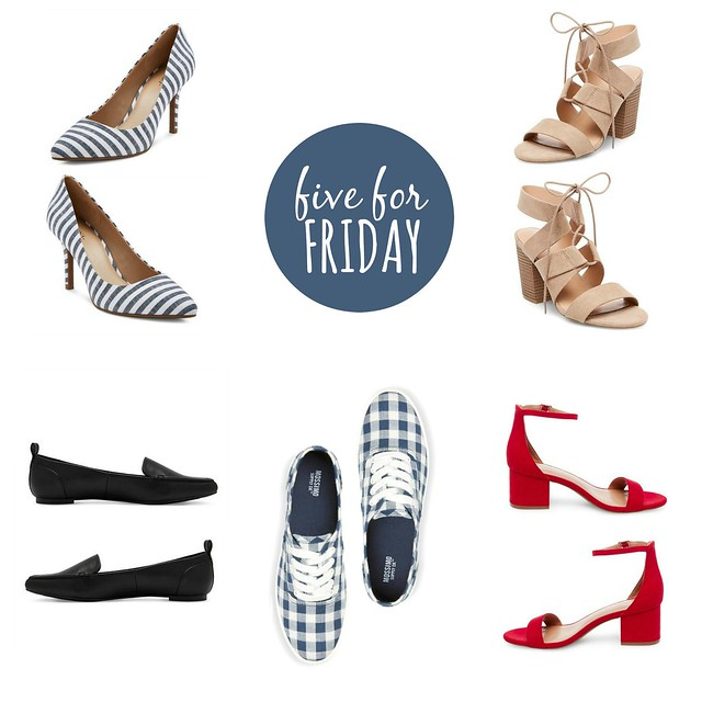 five for friday Target spring 2017 shoes
