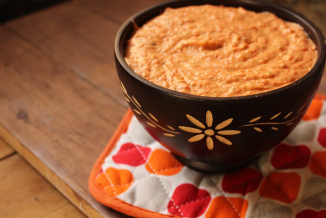 Roasted Red Pepper & White Bean Dip