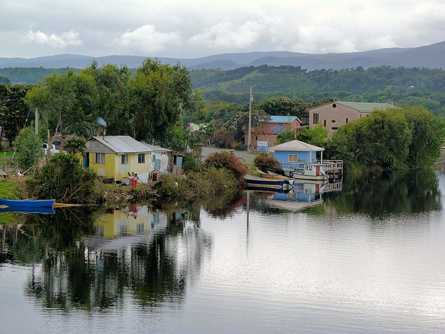 Postal de Isla Grande de Chiloé (Chile)