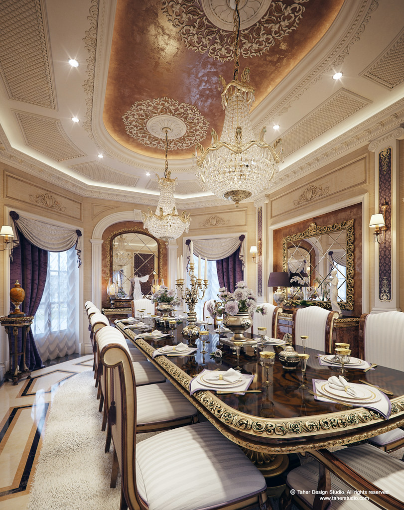 Luxury mansion interior Grand home furniture dubai