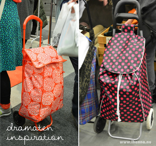 Dra maten väskor / Pull the fabric home - bags blogged by @ihanna #syfestivalen