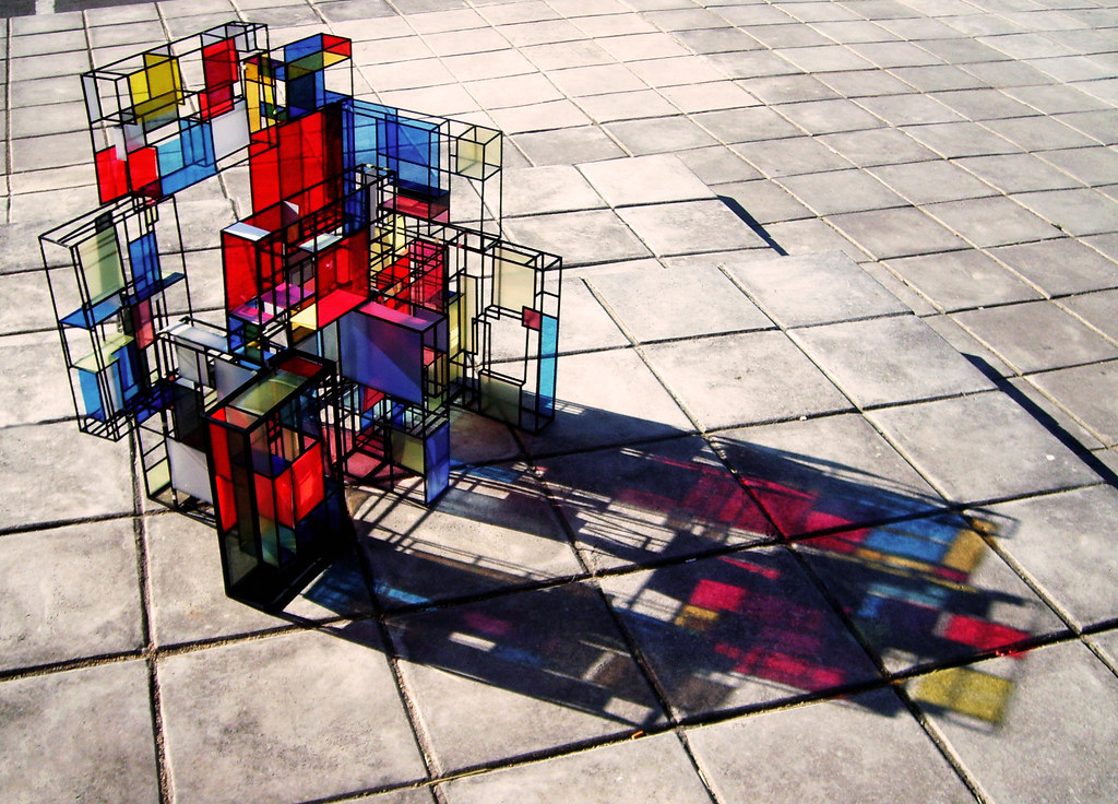 Mondrian 3D Pip Pilgrim Flickr