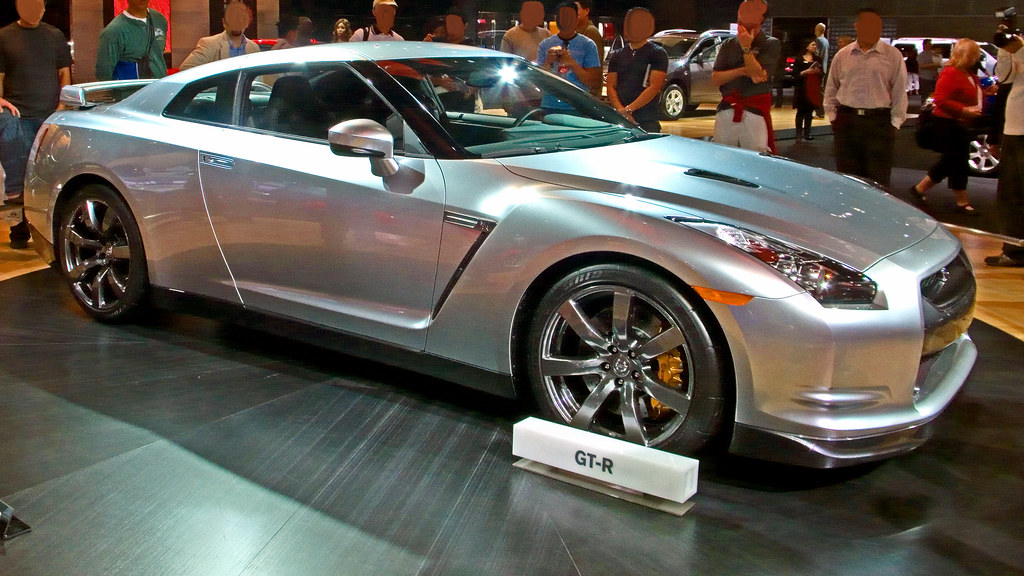 2009 Nissan Skyline Gt R At The 2008 Los Angeles Auto Show Flickr